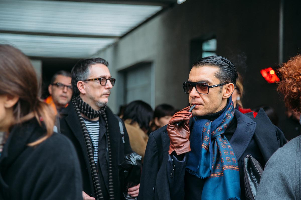 25360606026 98b3366466 o - Стритстайл недели моды в Милане: Гости Armani Show в объективе Яны Давыдовой