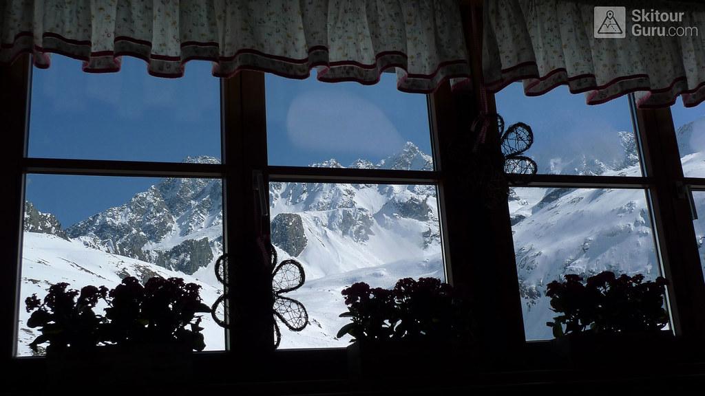 Franz Senn Hütte Stubaiské Alpy Österreich foto 09
