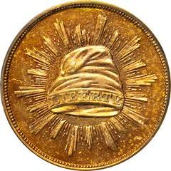 1836 Pattern Gold Dollar obverse