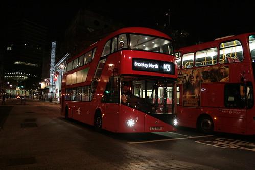 Abellio London LT626 on Route N3, Trafalgar Square