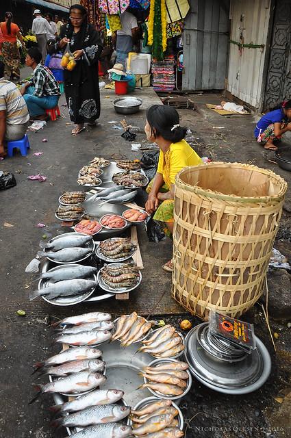 Yangon Chinatown Market