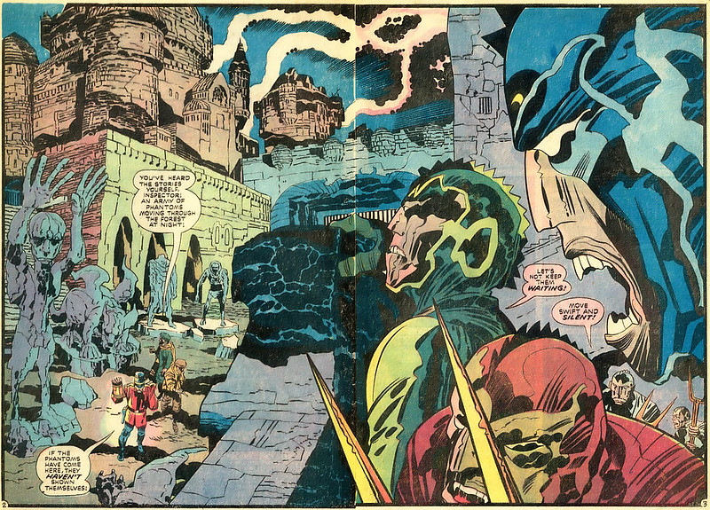 "Jack Kirby - Interior art from ""The Demon"" Issue 2, October 1972"
