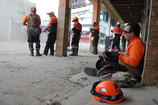 Portoviejo y Manta. Terremoto Ecuador