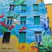 "Roma. Tor Marancia. Urban art. ""An even humanism"" by Gaia. Wip by R come Rit@"
