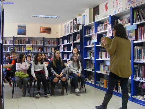 Visita do CEIP Laredo á Biblioteca de Chapela (3)