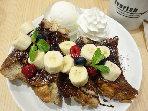 Ivorishパンケーキ画像チョコバナナ