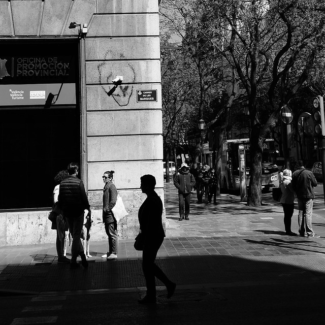 shadow people, Valencia