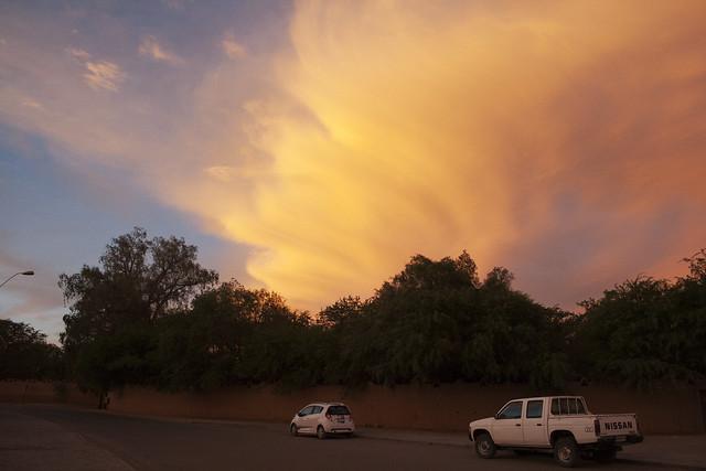 San Pedro de Atacama at sunset