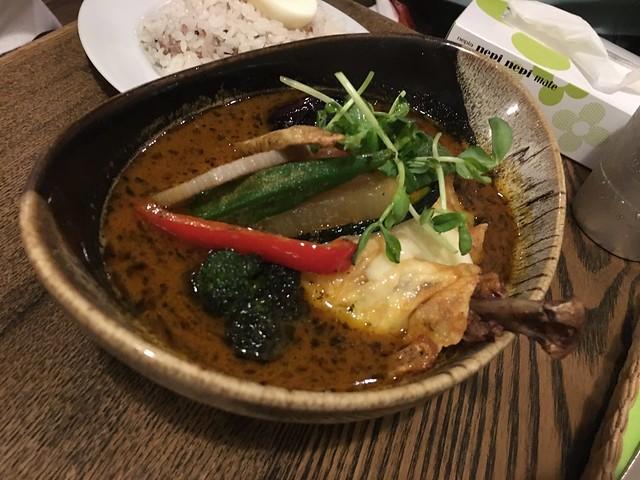 IMG_0922 ポニピリカ スープカレー 下北沢