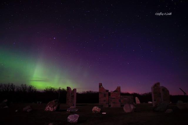 Aurora on the Mystical Horizon