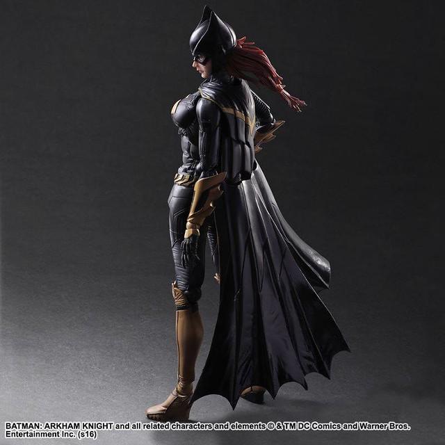 Play Arts 改 - 《蝙蝠俠:阿卡漢騎士》蝙蝠女 Batgirl