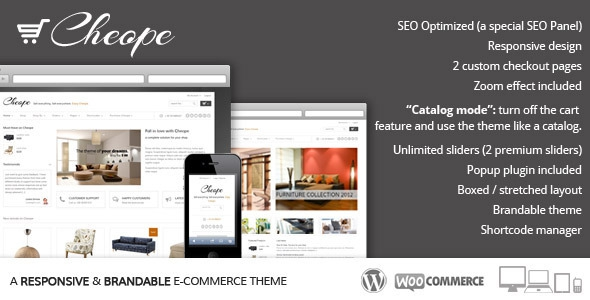 Cheope Shop v2.4.7 - Flexible e-Commerce Theme