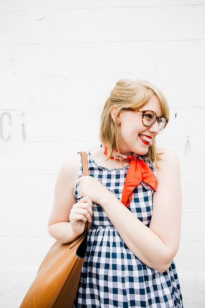 gingham-dress-silk-scarf2