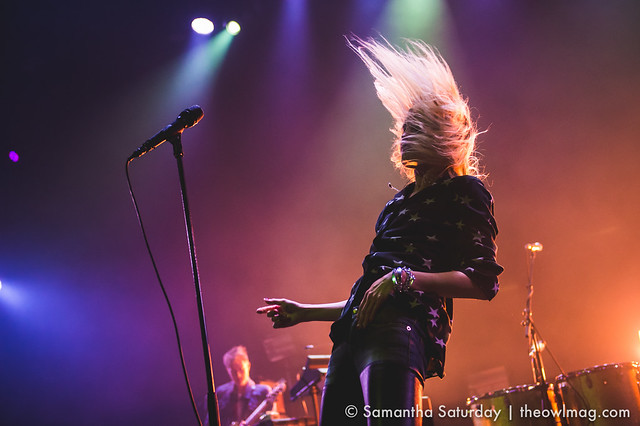 The Kills @ Mayan, Los Angeles - 18 April 2016 11