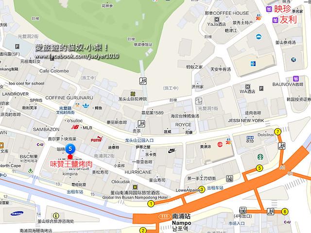 南浦站地圖