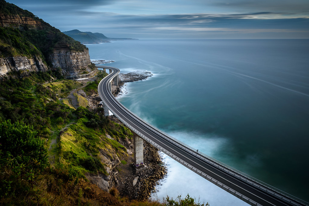 how to get to sea cliff bridge lookout