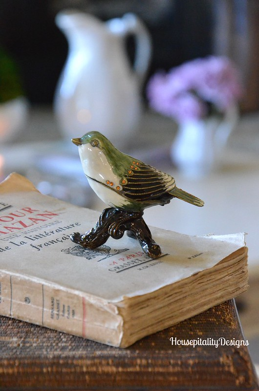 Enamelware Bird - Housepitality Designs