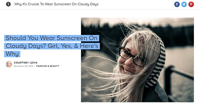 Should you wear sunscreen on cloudy days? Dr. Joel Schlessinger has the final answer.