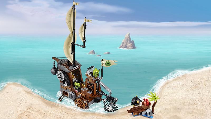 LEGO Angry Birds Movie 75825 - Piggy Pirate Ship