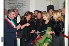 Il taglio del nastro inaugurale del Museo (2)