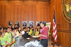 Maemae Elementary School Visit