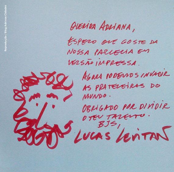 Cenas de Bsb. Parceria Adriana Paiva e Lucas Levitan