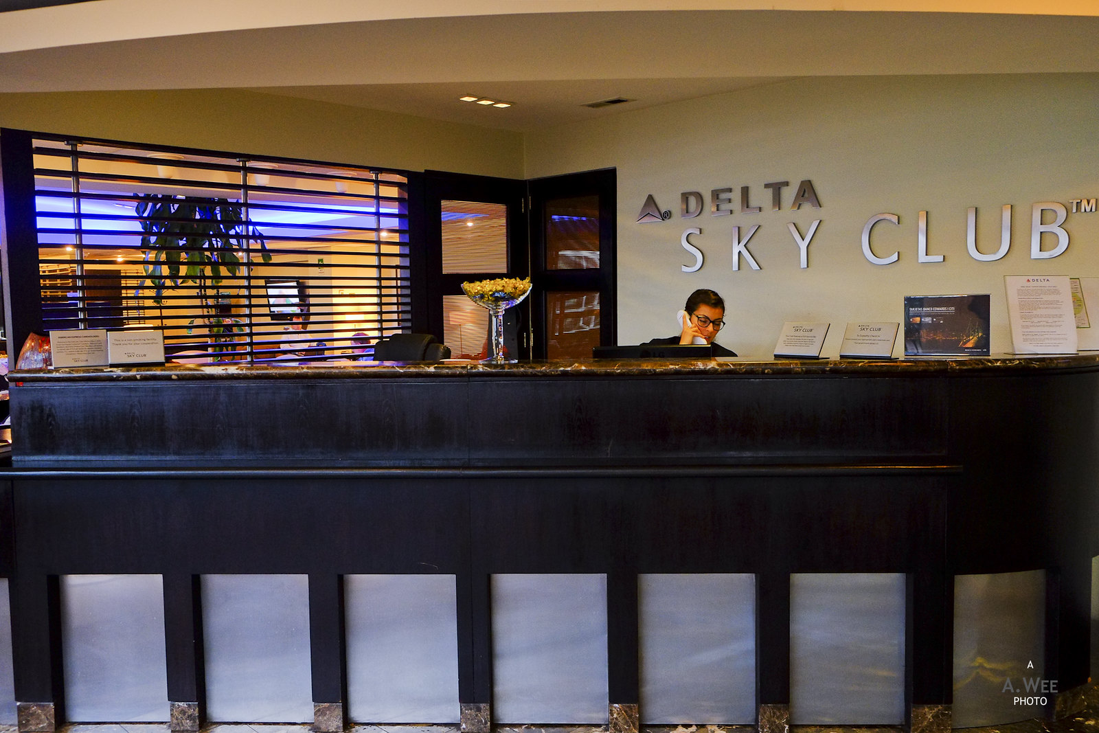 Sky Club reception