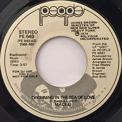 MACEO:DROWING THE SEA OF LOVE(LABEL SIDE-A)