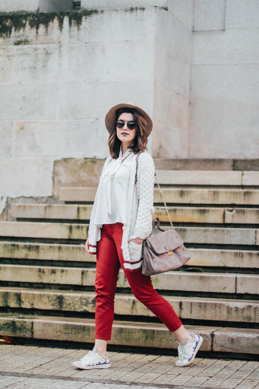 pantalones rojos con deportivas isabel marant myblueberrynightsblog