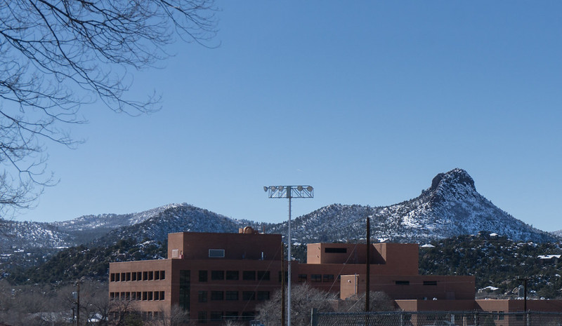 Thumb Butte Behind Hospital
