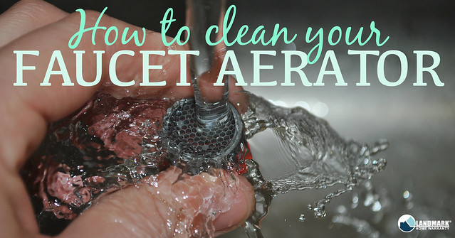 How to clean your Faucet Aerator