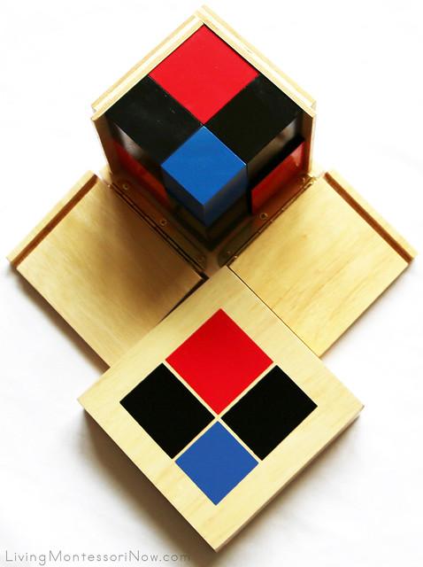 Binomial Cube from Alison's Montessori