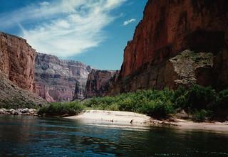 Grand Canyon (AZ) Raft Trip May 1988