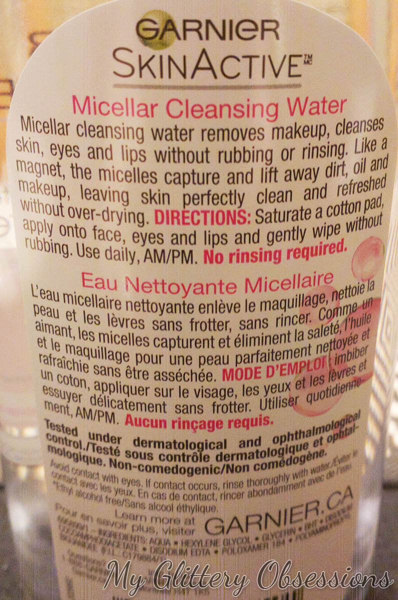 micellar bottle back