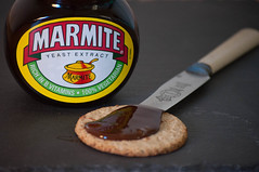 Marmite and Oatcake