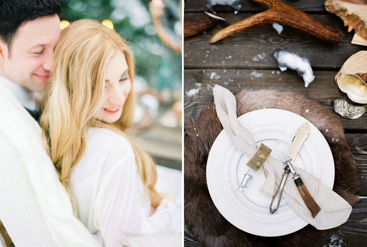 Narnia Inspired Winter Wedding Inspiration | Yaroslav and Jenny Photography | Read more on fabmood.com