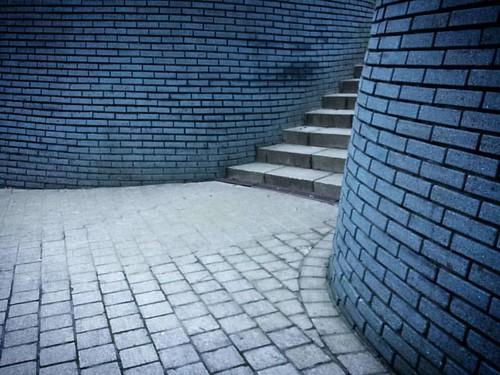 'Bricks' - #Brussels #Belgium #architecture #bricks #minimalism #samsungs4 #urban
