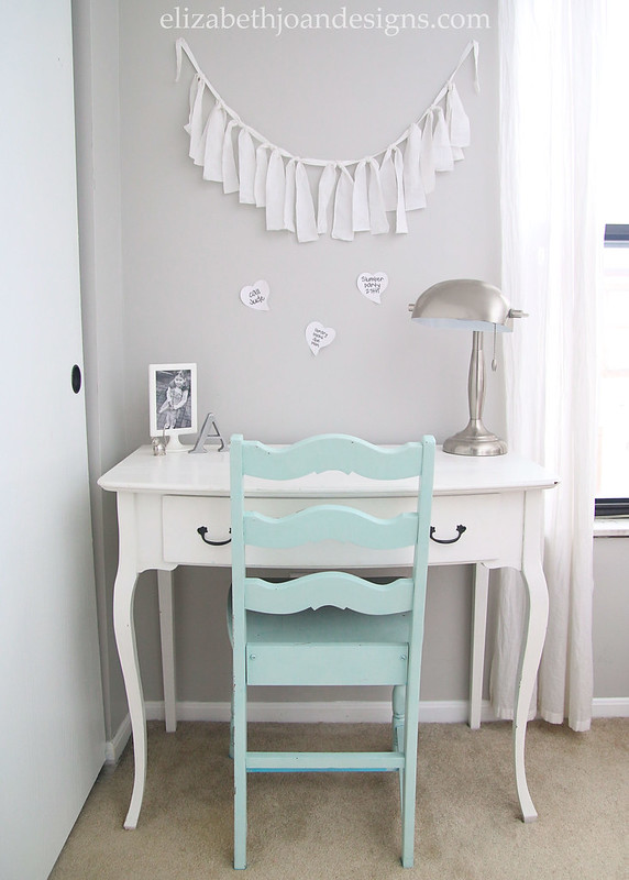 Girls Desk Makeover