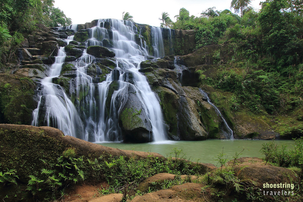 Aliw Falls in Barangay San Jose, Luisiana