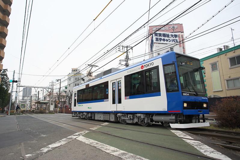 Tokyo Train Story 都電荒川線 2016年2月6日