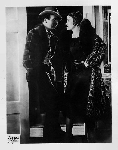 Hans Albers and Marlene Dietrich in Der blaue Engel (1930)
