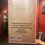@sauconybeer March 11th 7 PM - 9 PM Pint Night @rogueisland #supportlocal #sauconycreek #rogueisland #atlanticimporting @atlanticimporting