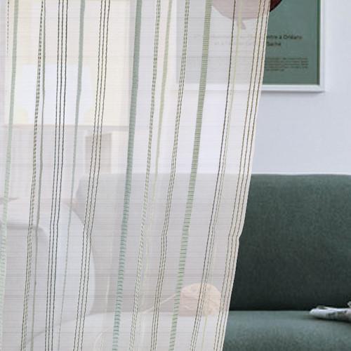 虛實分界 無印簡約 直線條 無接縫窗紗布 DB1890017