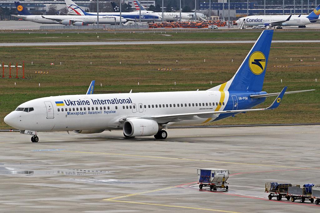 UR-PSM - B738 - Ukraine Int. Airlines