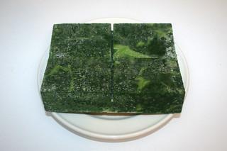 01 - Zutat Blattspinat / Ingredient leaf spinach