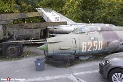 6250 - 74210 - Polish Air Force - Sukhoi SU-20R - Polish Aviation Musuem - Krakow, Poland - 151010 - Steven Gray - IMG_0777