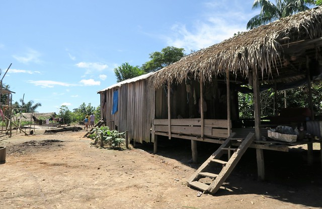 amazon tribe village