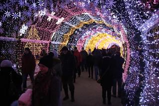 Christmas Lights on Tverskoy Blv.