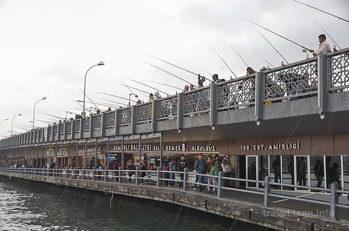 【写真】東欧周遊 : ガラタ橋周辺