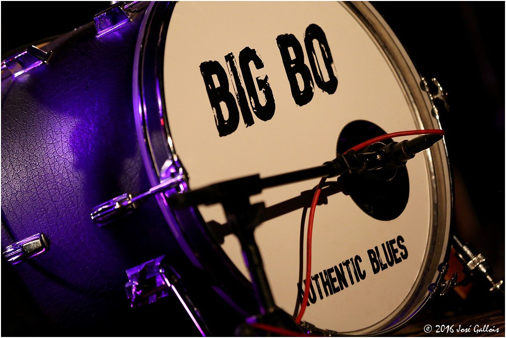Big Bo @ 15 jr Blues aan Zee